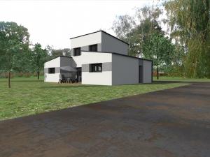Projet à St Brice en Coglès VUE 3D